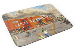 celtic park going to the match Premium Quality Mouse mat